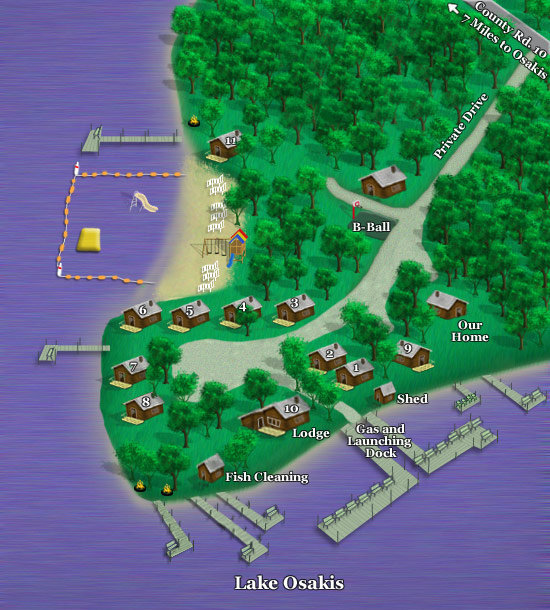 Resort Layout Map